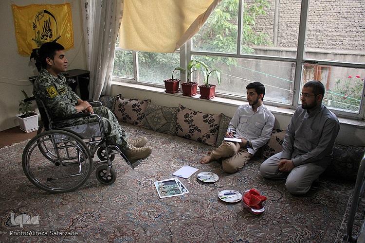 روایتی از جانباز بیست ساله مدافع حرم/ تمام آرزویم دیدن رهبری است