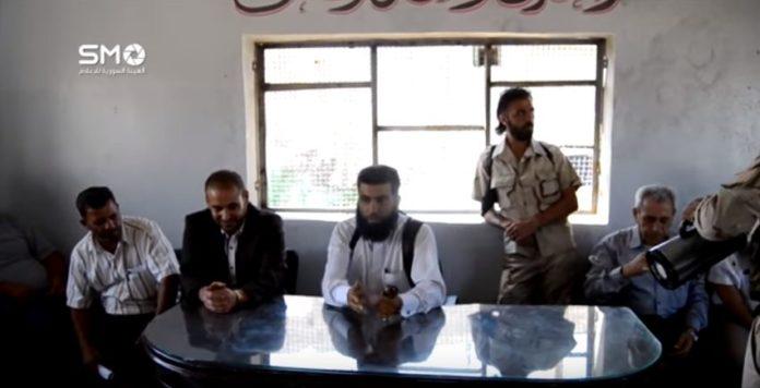 حمله انتحاری تروریست های داعش  جلسه معارضان سوری