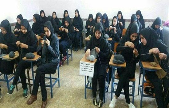 اقدام زیبای دختران «عجب شیر» برای مدافعان حرم