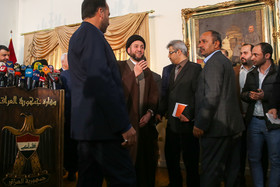 کنفرانس خبری سید عمار حکیم