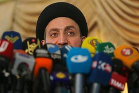 کنفرانس خبری سید عمار حکیم در سفارت عراق