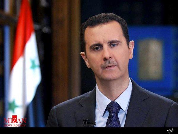 واکنش بشار اسد به تحولات حلب و تدمر