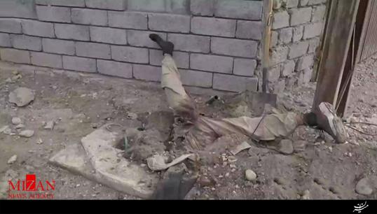 عجیب و غریبترین صحنه هلاکت یک داعشی + فیلم