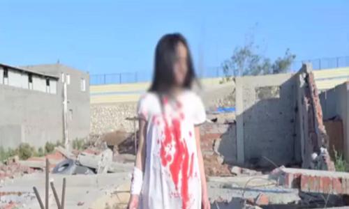 ساخت تصاویر و فیلمهای ساختگی از کشتار کودکان و غیرنظامیان در شرق حلب