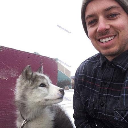 آشنایی با شغل عجیب «بغل کردن حیوانات»