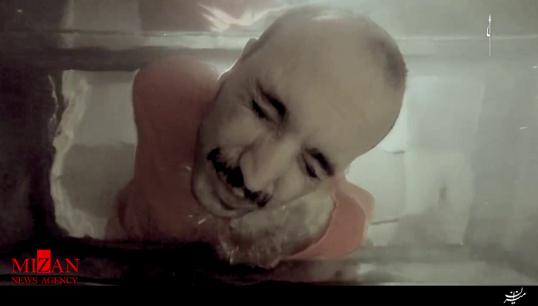 اعدام قربانی داعش در آکواریوم ماهی! + فیلم (16+)