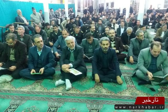 مراسم ختم مرحوم حجت الاسلام و المسلمین هاشمی رفسنجانی در ساوه
