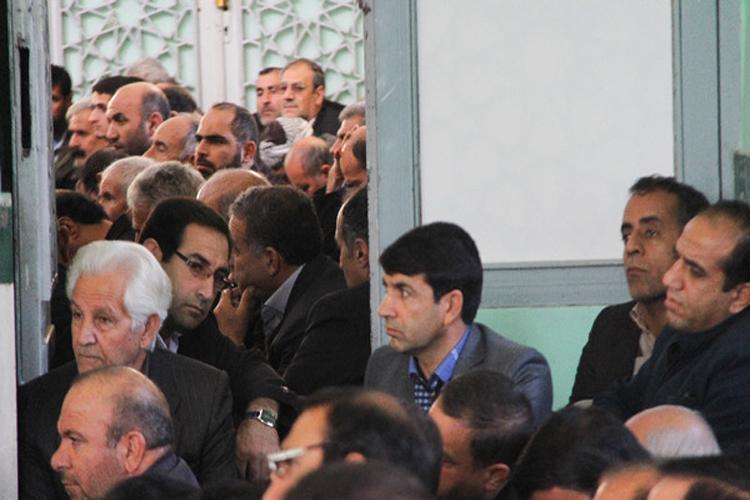 برگزاری مراسم بزرگداشت آیتالله هاشمیرفسنجانی در کوهدشت + عکس