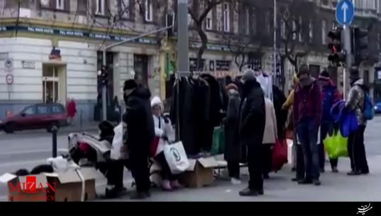 کاهش مرگومیر بیخانمانها با ایده جالباسی مهربانی + فیلم