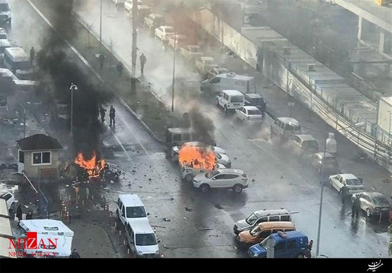 انفجار در ازمیر ترکیه
