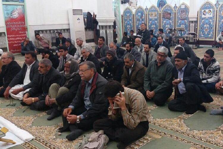 کرسی تلاوت قرآن در زاهدان برگزار شد + عکس