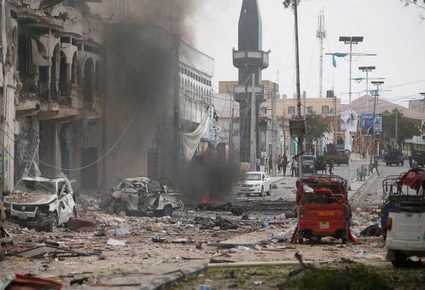 حمله به هتلی در سومالی