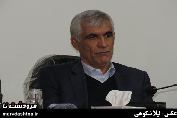 افشانی استاندار فارس در شورای اداری مردشت