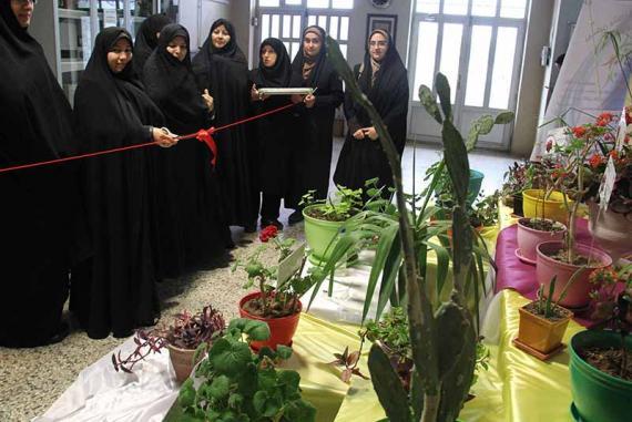 افتتاح مجموعه گیاه شناسی در پردیس بنت الهدی صدر اردبیل