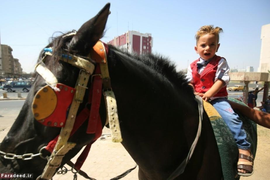اسبسواری کودکی در بغداد