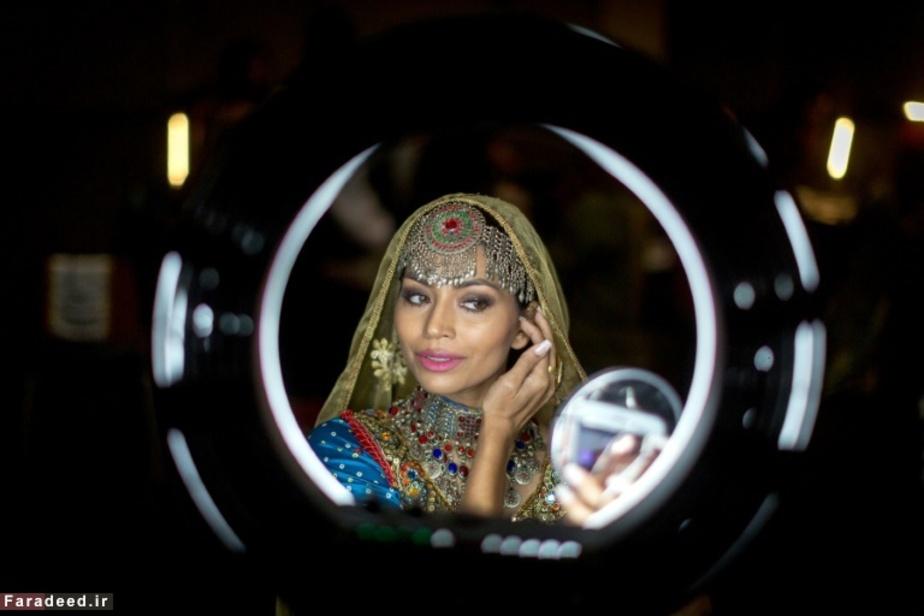 دختر برگزیده پاکستان در مراسم زیباترین دختران دنیا