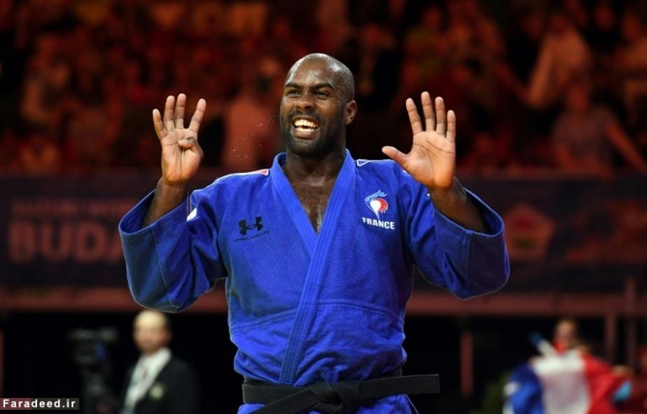 برنده مدال طلای مسابقات جودو در بوداپست