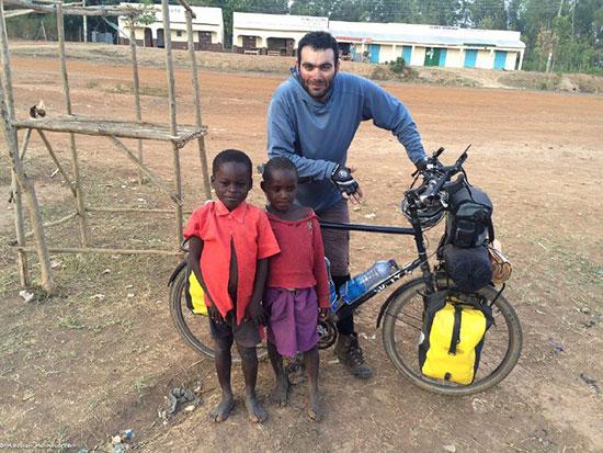 مردی که با دوچرخه از سیبری گذشت