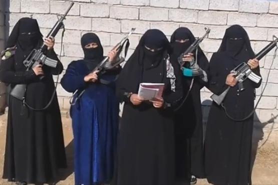 Image result for محل نگهداری زنان و فرزندان داعشی