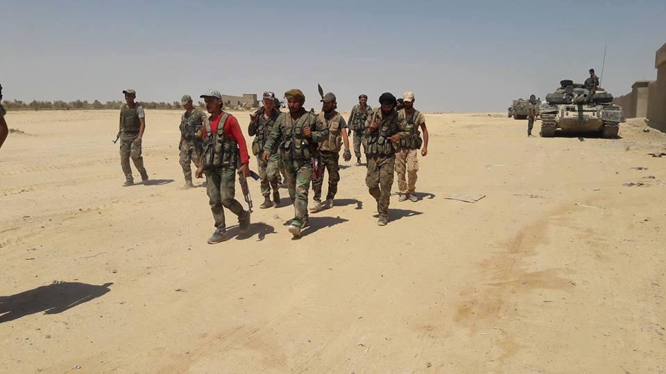 آخرین تحولات و پیشروی نیروهای سوری در دیرالزور