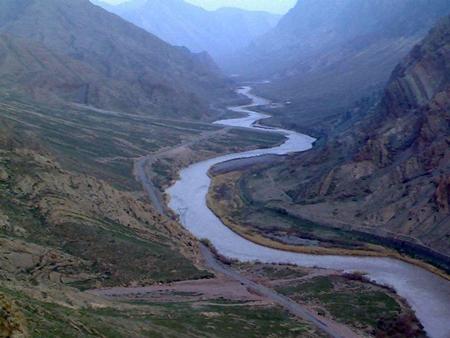 رود ارس؛ رود تند و خروشان