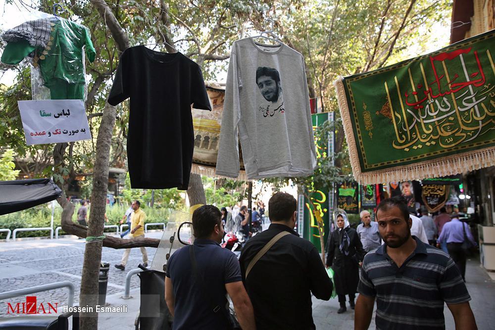 تی شرتهای محرم با عکس شهید حججی