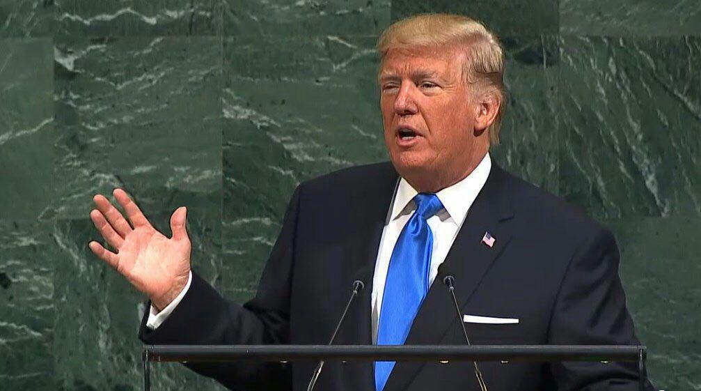 نطق ترامپ، پیروزی ایران
