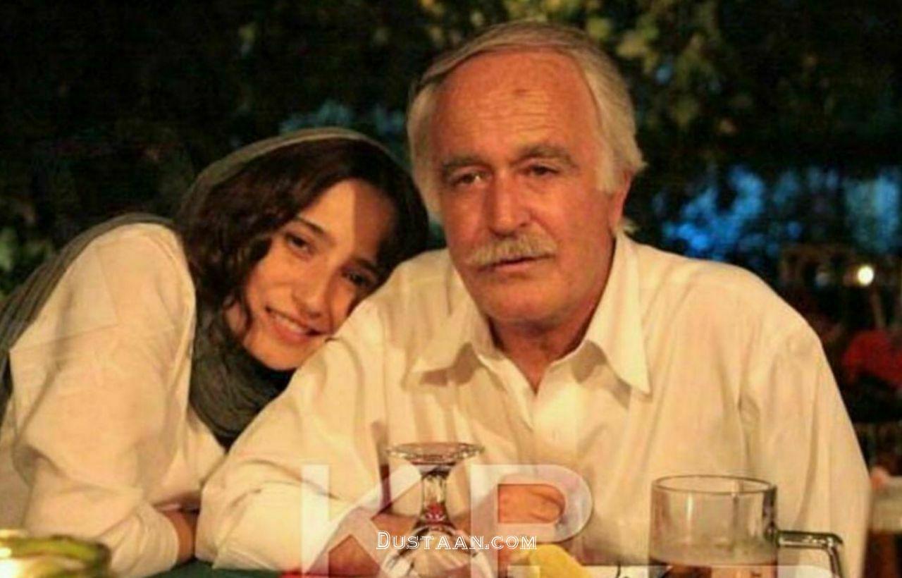 تصویری زیبا از نگار جواهریان به همراه پدرش