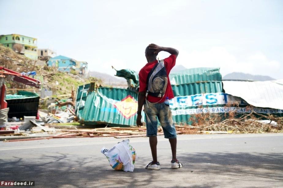 جزیره کارائیب پس از توفان