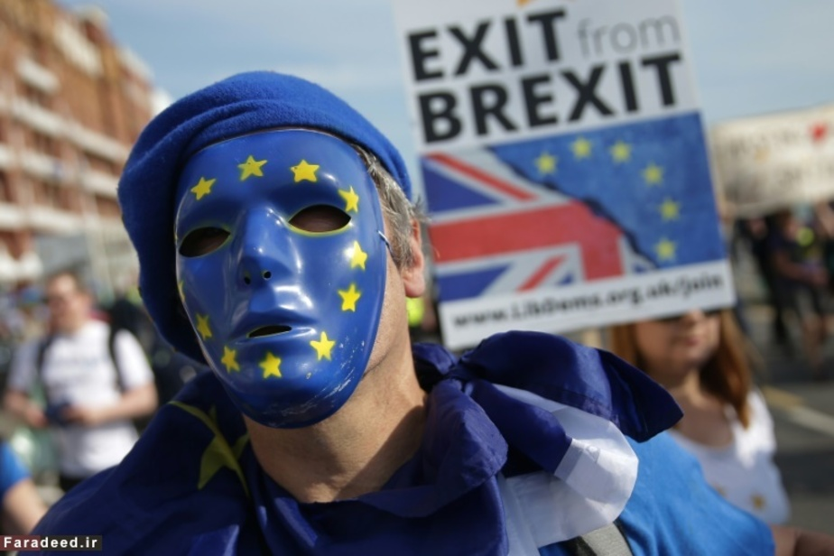 تظاهرات علیه خروج انگلیس از اتحادیه اروپا