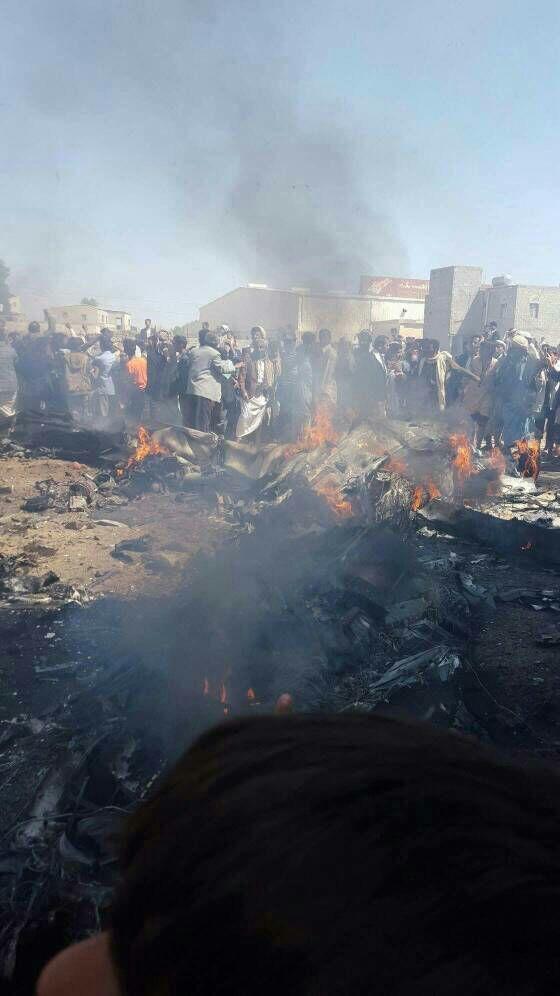 هواپیمای جاسوسی آمریکایی در صنعا سرنگون شد