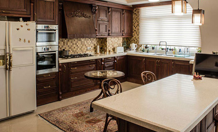۷ ایده برای به روز کردن دکوراسیون  آشپزخانه  های قدیمی