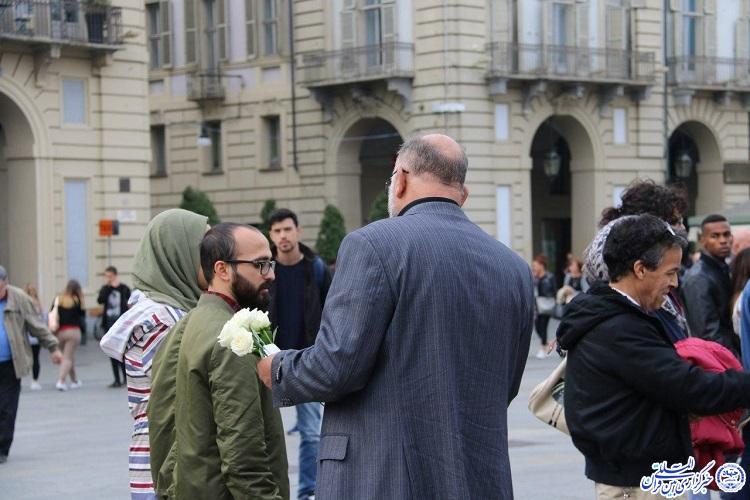 شکوه همدلی محبان اهل بیت(ع) در عزاداری مرکز اسلامی تورینو