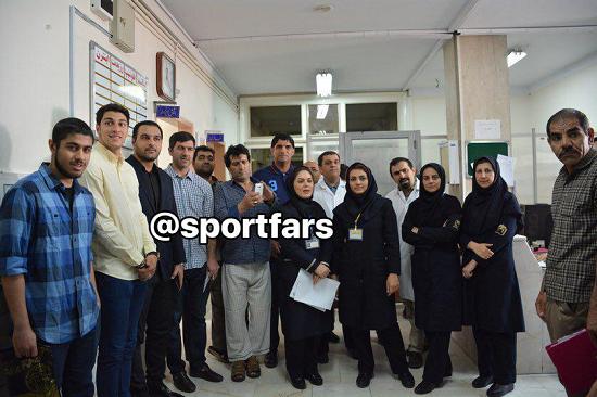 ملاقات فوتبالی ها با بیماران مبتلا به سرطان خون