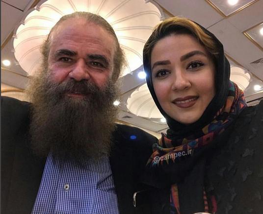 ۲۸ سال تفاوت سنی خانم بازیگر با همسرش/عکس