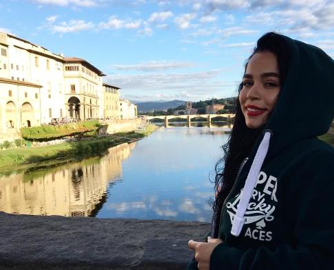 ملیکا شریفی نیا در ایتالیا