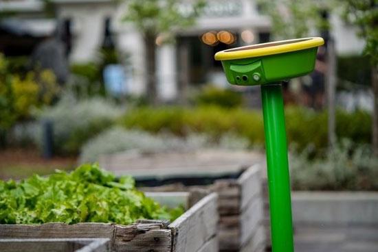 رباتی که شبانهروزی مواظب باغچهتان است!