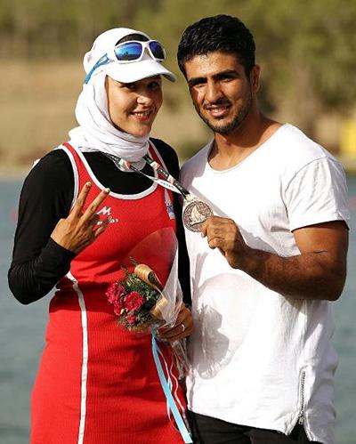 «مهسا جاو»ر و «محسن محمدسیفی»؛ یک عاشقانه اسپورت