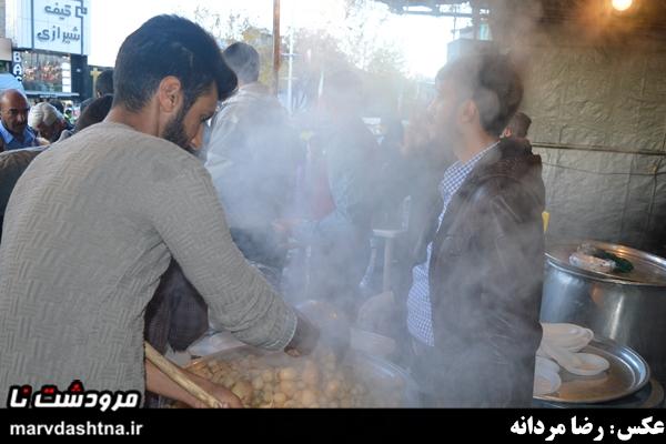 ایستگاه صلواتی مرودشت به مناسبت پایان داعش
