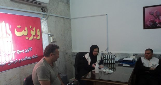 ویزیت دکتری رایگان ۵۵ مددجو زندان گنبدی