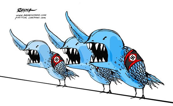 کاریکاتور: توئیتهای دردسرساز رئیسجمهور!