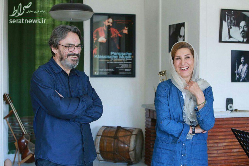 گفتوگوی مفصل حسین علیزاده و فاطمه معتمدآریا درباره سینما و موسیقی