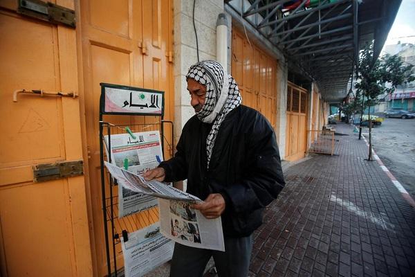 اعتصاب سراسری در فلسطین در اعتراض به تصمیم ترامپ