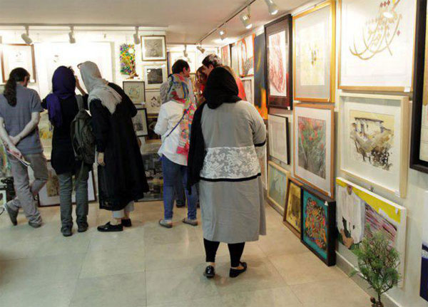 گالری گلستان، میزبان «خانه ابری نیما»