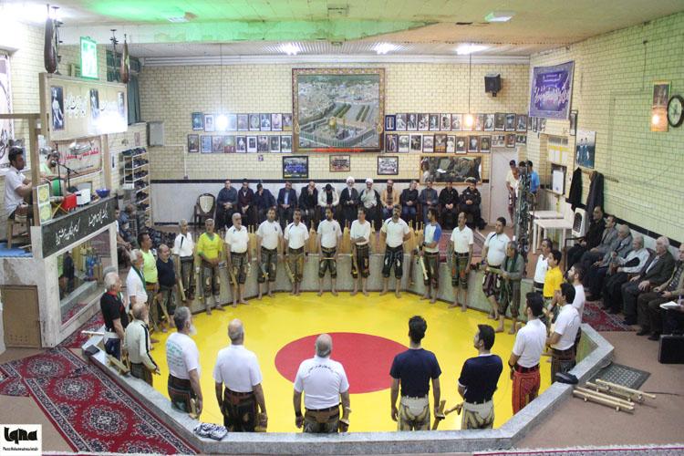 گزارش تصویری از ورزش باستانی با حضور محمدرضا اشک زری در همدان