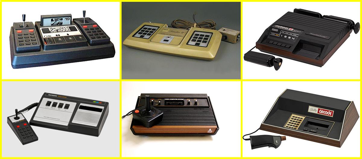 معرفی انواع کنسولهای بازی از سال ۱۹۶۷ تا ۲۰۱۷