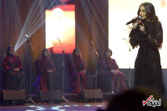 اولین کنسرت یک خواننده زن در عربستان
