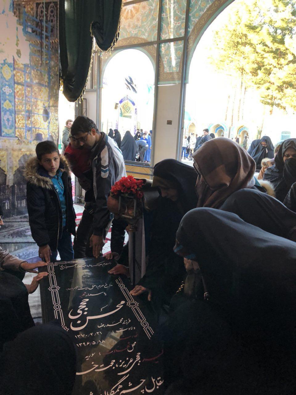عکس| حال و روز مقبره شهید حججی در نجفآباد