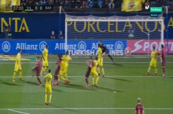 تیر دروازه و طلسم تعجب آور بارسلونا