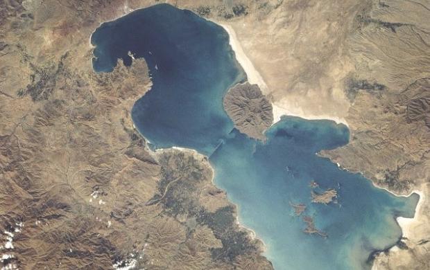 تراز دریاچه ارومیه شش سانتیمتر افزایش یافت